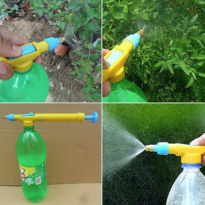 Garden Water Pneumatic Pressure Hose Spray Gun Plastic Head Nozzle Spraye;
