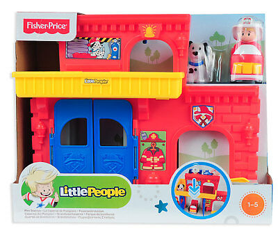 Fischer-Price Little People Wheelies Feuerwehr Station