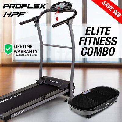NEW Electric Treadmill Vibration Platform - Machine Exercise Plate Gym Equipment
