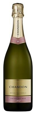 Chandon Brut Rose NV (6 x 750mL), Yarra Valley, VIC.