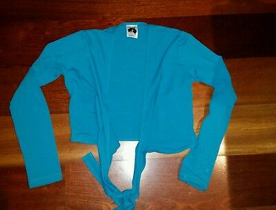 Energetiks Adult Wrap Top in Pretty Teal - Adult Small