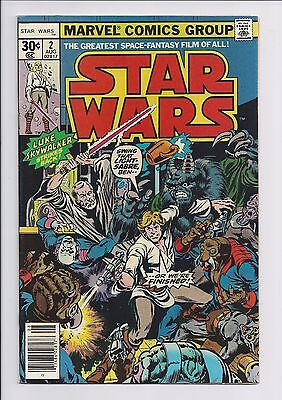 1977 Marvel Star Wars #2 FINE 1st Print Newstand Edition 1st app Han Solo
