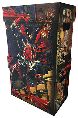 SPAWN 25th Anniversary Limited Edition Licensed Short Comic Book Storage Box Set