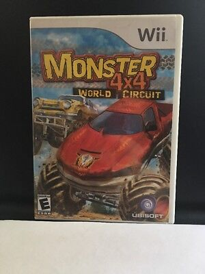 Nintendo Wii  Game Monster 4X4 World Circuit  COMPLETE