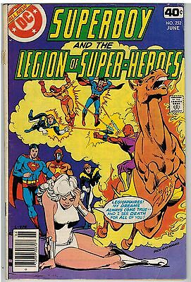 Superboy And The Legion Of Super-Heroes #252 1979 Staton Art Dc Bronze Age!