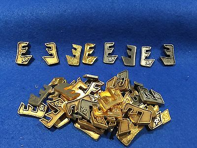 Lot of 50 1970's Vintage Boy Scouts Explorer Metal Emblems *NOT PINS*