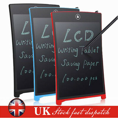 """LCD Writing Pad Electronic Drawing Tablet Memo Graphics eWriter Board 8.5"""" Inch"""