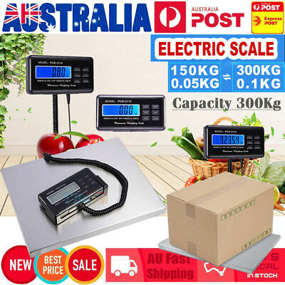 AU - Commercial Scales Digital Platform Postal Scale Electronic Weight 0.1-300KG