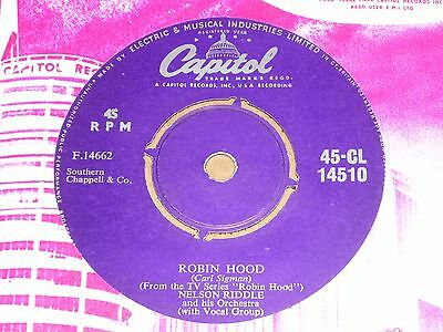 """Nelson Riddle """"Robin Hood"""" Capitol 45"""