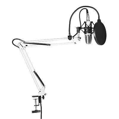Neewer NW-700 Microphone Kit includes:Microphone+Stand+Pop Filter+Shock Mount