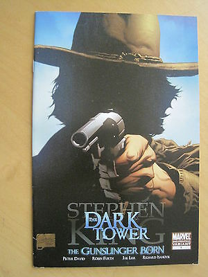 STEPHEN KING :DARK TOWER, GUNSLINGER BORN issue 1 VARIANT 2nd PRINT. MARVEL.2007