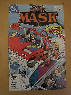 MASK : 1987 DC SERIES : issue 1 . BASED ON THE CLASSIC TV SERIES