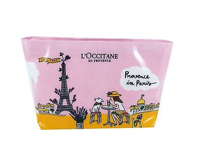 L'OCCITAE L'Occitane Provence in Paris 5pc Travel PINK Gift Bag Set (no sleeve)
