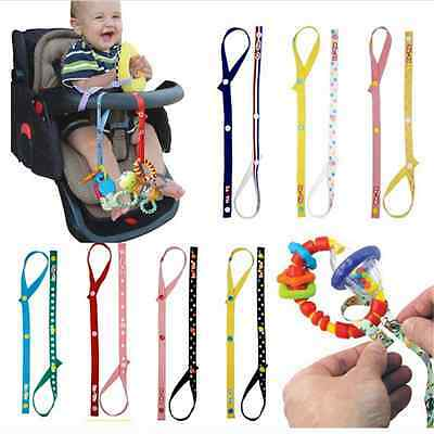 Dropper Stopper Sippy Cup&Baby Toddler Infant Bottle Stroller Strap Toy HolderW!
