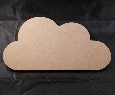 DIY Wooden Cloud - Wood Shape Cloud - 22cm x 12cm