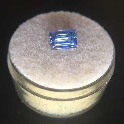 NATURAL 1.48ct Loose Blue Ceylon Sapphire Baguette Cut Sri Lanka Gem Diamond