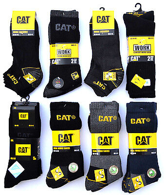 CAT® CATERPILLAR Socken Arbeitssocken Sneaker Business etc TOP AUSWAHL Gr. 35-50