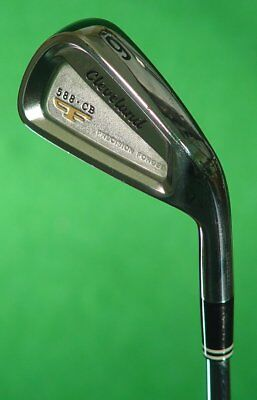 Cleveland 588 CB Precision Forged Single 6 Iron Dynamic Gold S300 Steel Stiff