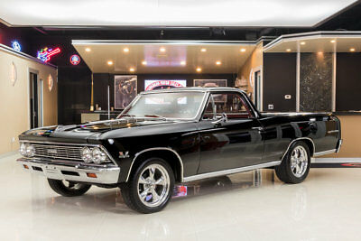 1966 Chevrolet El Camino  Frame Off Restoration! GM Crate ZZ454ci, Muncie 4-Speed Manual, PS, Factory A/C!