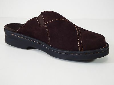 womens casual clarks shoes 6 M slip on slides comfortable low heel clogs