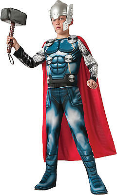 Avengers Thor Muscle Child Boyu0027s Costume - Multiple Sizes Available  sc 1 st  PicClick & NEW DISNEY STORE Marvel Avengers Thor Costume for Boys Size 9/10 ...