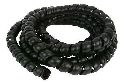 3/4 Hydraulic Hose Spiral Wrap 10ft Wire Protector Cover Guard Cable Organizer
