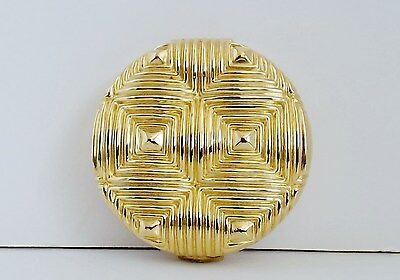 Estee Lauder Lucidity Powder Compact Linear Pillow Designed Lid Perfect Mirror