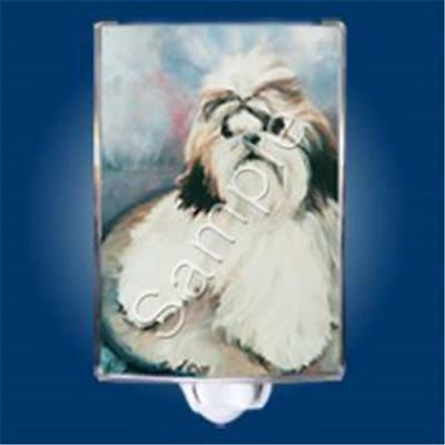 Shih Tzu Dog Night Light US Plug NIB Ruth Maystead