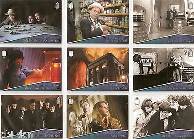 DOCTOR WHO 2015 TOPPS BASE trading card set + 2 INSERTS SETS 220 total