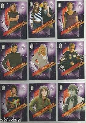 Doctor Who Dr. Who TIMELESS (2016) COMPANIONS ACROSS TIME trading card subset