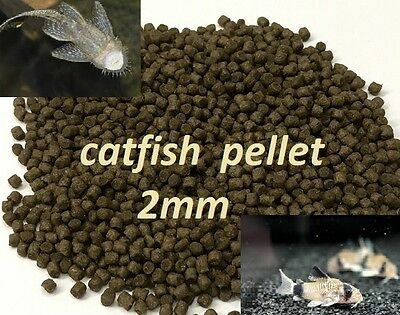 Catfish Pellets Tropical Food Fish Sinking Pleco,Cory,Bottom Feeder,47% Protein