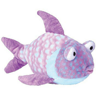 TY Pluffies - GOOGLY the Fish (9 inch) - MWMTs Stuffed Animal Toy