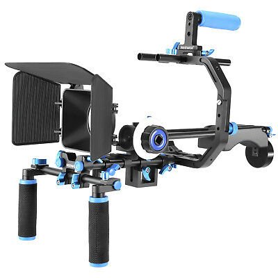 Neewer Aluminum Film Movie System Kit Video Making System Rig for DSLR Cameras