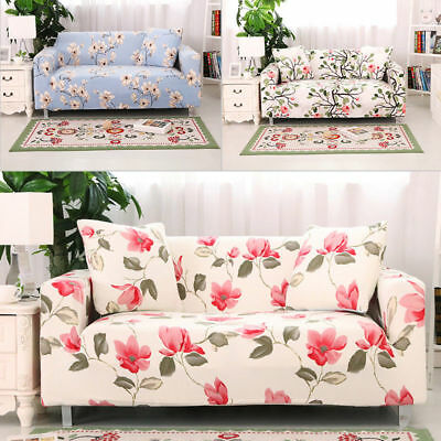 1 2 3 4 Seater Elastic Stretch Chair Loveseat Sofa Couch Protect Cover Slipcover