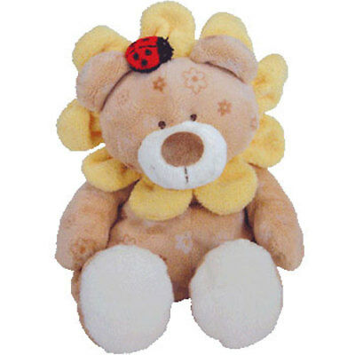Baby TY - BABY BLOSSOMS the Flower Bear (Near Mint Tag) - MWMTs BabyTy Stuffed