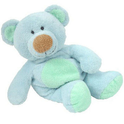 TY Pluffies - BLUEBEARY the Bear - MWMTs Stuffed Animal Toy