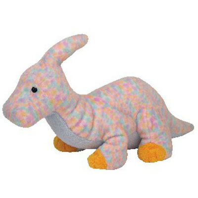 TY Pluffies - CLOMPS the Dinosaur (12 inch) - MWMTs Stuffed Animal Toy