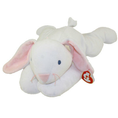 TY Pillow Pal - CLOVER the Bunny (14 inch) - MWMTs Stuffed Animal Toy