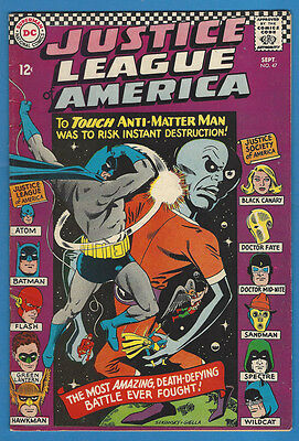 Justice League of America/JLA 47 Fine 1966 DC JSA X-Over Spectre Black Canary