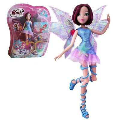 Winx Club - Mythix Fairy Puppe - Fee Tecna mit Mythix Stab