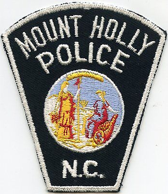 old vintage MOUNT HOLLY NORTH CAROLINA NC POLICE PATCH