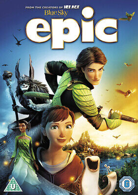 Epic DVD (2013) Chris Wedge cert U Value Guaranteed from eBay's biggest seller!