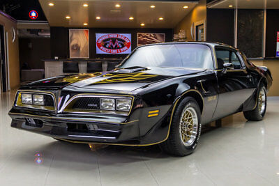 1978 Pontiac Firebird  Rotisserie Restored W72! Pontiac 6.6L V8, 4-Speed Manual, SD Cooling Pkg & More!