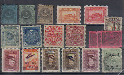 Turkey Small batch of early stamps