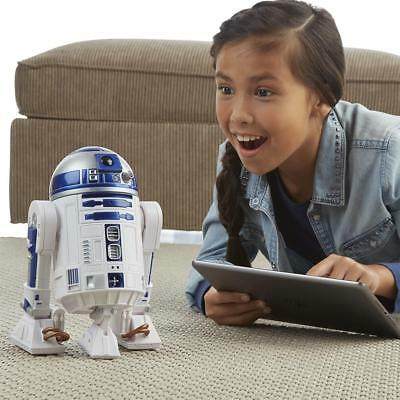 Star Wars Smart R2-D2 Remote Radio Controlled Droid Robot Action Figure App Toy