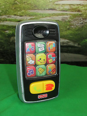 Fisher-Price Laugh & Learn Smilin' SMART CELL PHONE Musical TOY for Baby Toddler