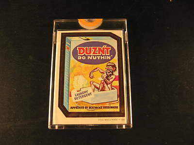 1967 Topps Wacky Packages Die Cuts Proof Duznt