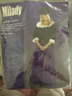 Halloween Costume Milady Adult Medium 8-10
