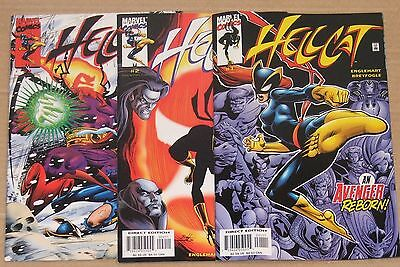 HELLCAT #1, 2, 3 / 3 Issues / AVENGERS    / MARVEL 2000   / VF- F