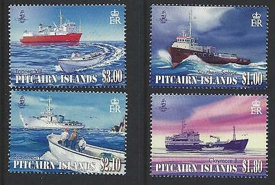 Pitcairn Island 2011 Supply Ships Unmounted Mint,mnh
